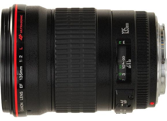 עדשת קנון Canon lens 135mm F/2 L USM