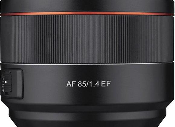 עדשה סאמיאנג Samyang for Canon EF 85mm F/1.4 AF