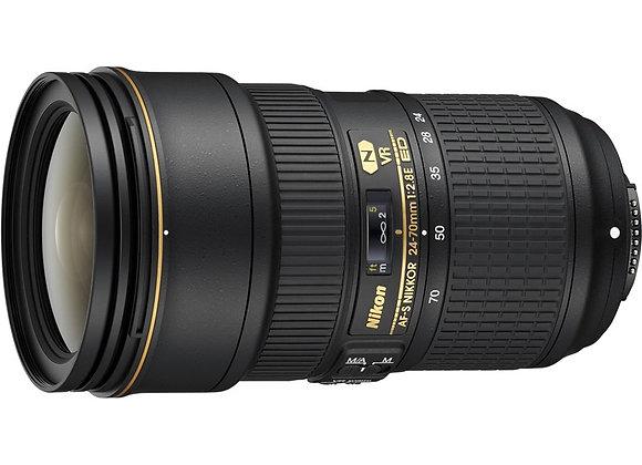 Nikon Lens AF-S NIKKOR 24-70mm f/2.8E ED VR עדשה ניקון - יבואן רשמי