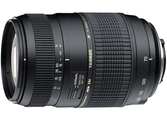 עדשה טמרון Tamron for Nikon 70-300mm AF F/4-5.6 Di LD Macro 1:2 - יבואן רשמי