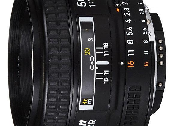 Nikon Lens 50mm f/1.4 D AF עדשה ניקון - יבואן רשמי
