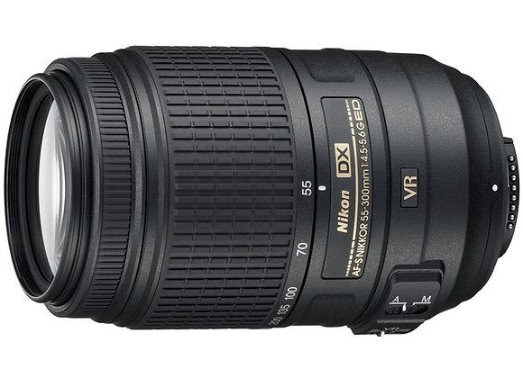 Nikon Lens 55-300mm f/4.5-5.6 G ED AF-S DX VR עדשה ניקון - יבואן רשמי
