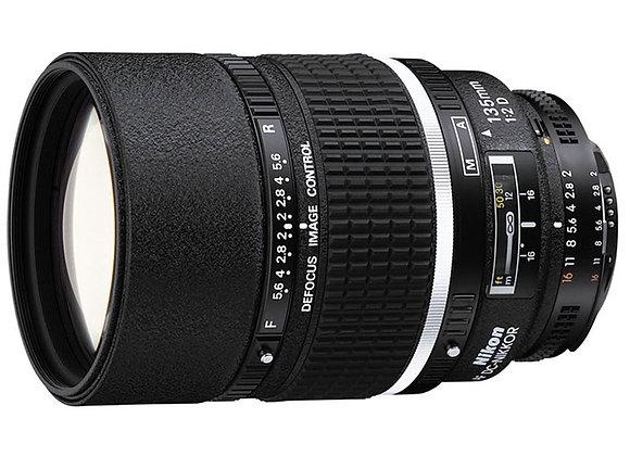 Nikon Lens 135mm f/2 D AF DC עדשה ניקון - יבואן רשמי