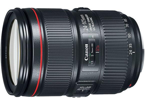 עדשת קנון Canon lens EF 24-105mm f/4L IS II USM Lens