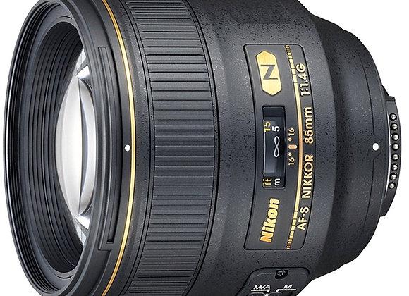 Nikon Lens 85mm f/1.4 G IF AF-S עדשה ניקון - יבואן רשמי