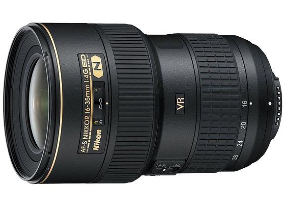 Nikon Lens 16-35mm f/4 AF-S VR FX עדשה ניקון - יבואן רשמי
