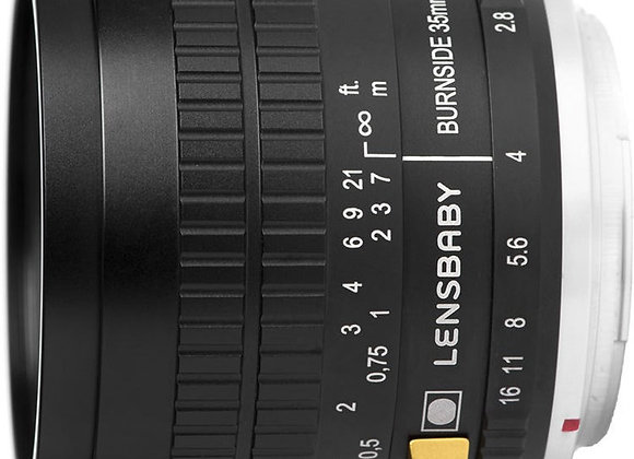 עדשה לנסבייבי Lensbaby lens for Fujifilm X Burnside 35mm