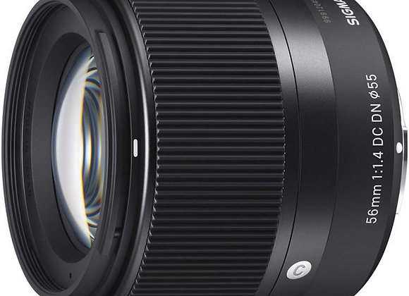 עדשה סיגמא Sigma for Sony E 56mm f/1.4 DC DN Contemporary E