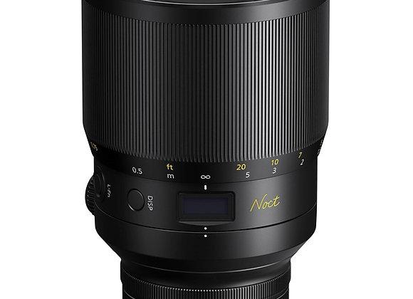 Nikon Z Lens Nikkor Z 58mm f/0.95 S Noct עדשה ניקון - יבואן רשמי