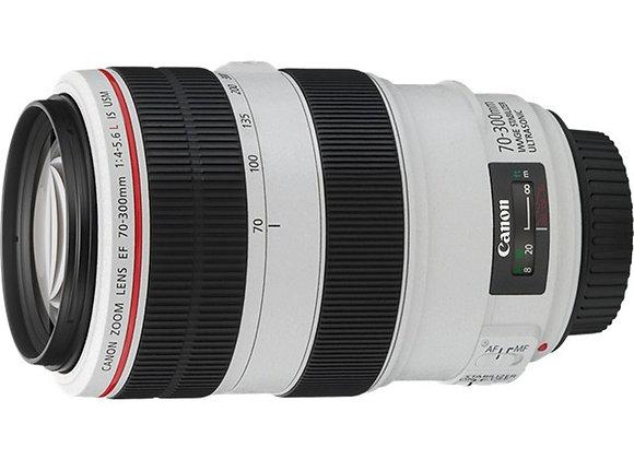 עדשת קנון Canon lens 70−300mm f/4-5.6 L IS USM
