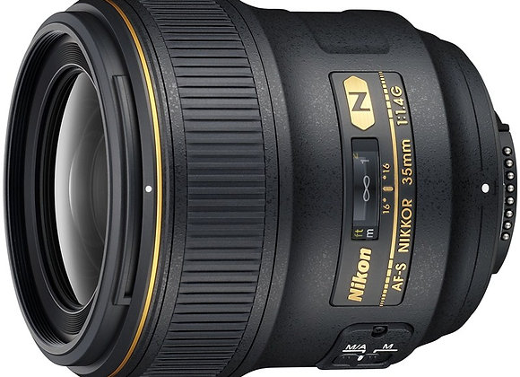Nikon Lens 35mm f/1.4 G AF-S עדשה ניקון - יבואן רשמי