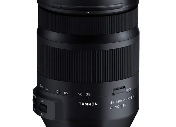 עדשה טמרון Tamron for Nikon 35-150mm F/2.8-4 Di VC OSD - יבואן רשמי