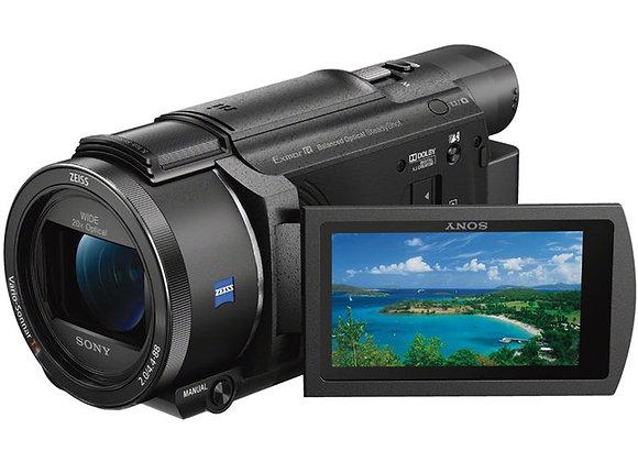 מצלמת וידאו חצי מקצועי סוני Sony FDR-AX53 4K Ultra HD Handycam Camcorder