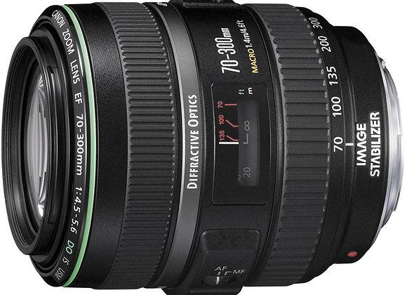 עדשת קנון Canon lens 70-300mm f/4.5-5.6 DO IS USM
