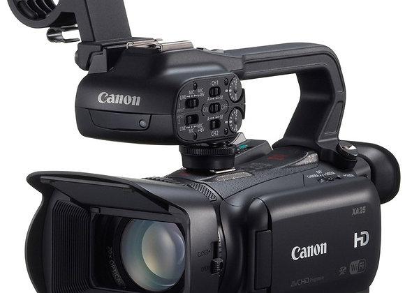 מצלמת וידאו מקצועי קנון Canon XA25 Professional HD Camcorder