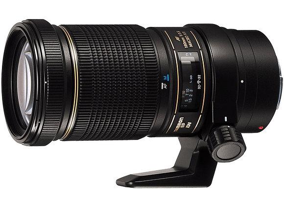 עדשת טמרון Tamron for Nikon SP Autofocus 180mm f/3.5 Di LD (IF) 1:1 Macro - יבוא