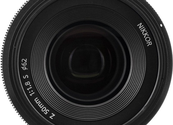 Nikon Z Lens Nikkor Z 50mm f/1.8 S עדשה ניקון - יבואן רשמי