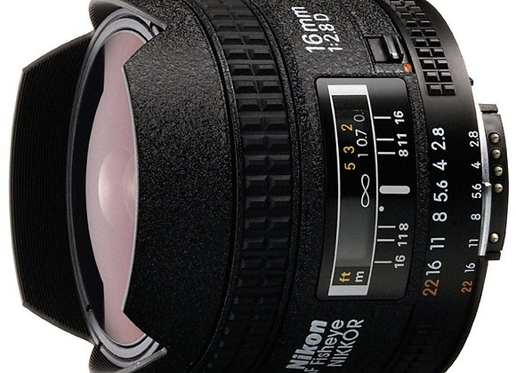 Nikon Lens 16mm f/2.8 D AF עדשה ניקון - יבואן רשמי