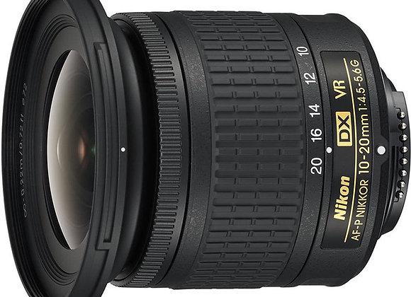 Nikon Lens AF-P DX NIKKOR 10-20mm f/4.5-5.6G VR עדשה ניקון - יבואן רשמי
