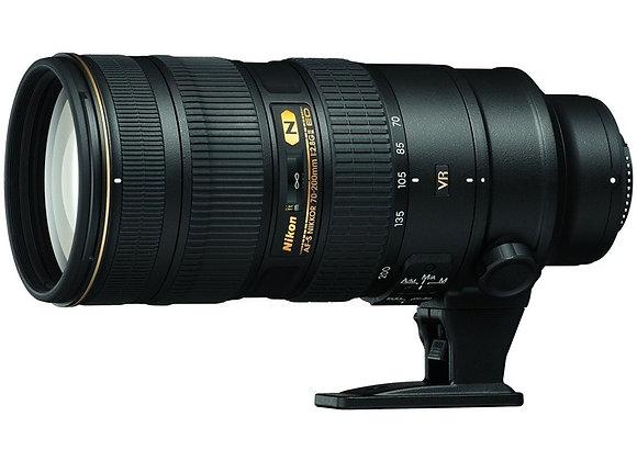 Nikon Lens 70-200mm f/2.8 G ED AF-S VR II עדשה ניקון - יבואן רשמי