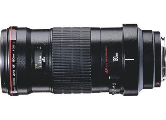 עדשה קנון Canon lens 180mm f/3.5 L Macro USM