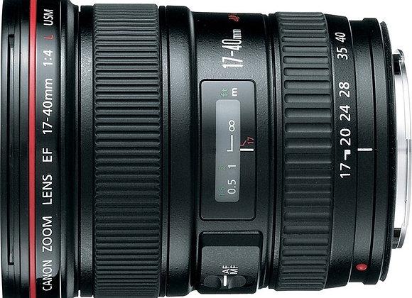 עדשת קנון Canon lens 17-40mm f/4 L USM