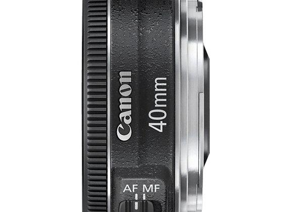 עדשת קנון Canon lens 40mm f/2.8 pancake
