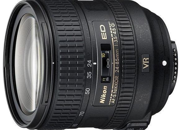 Nikon Lens 24-85mm f/3.5-4.5 VR AF-S עדשה ניקון - יבואן רשמי