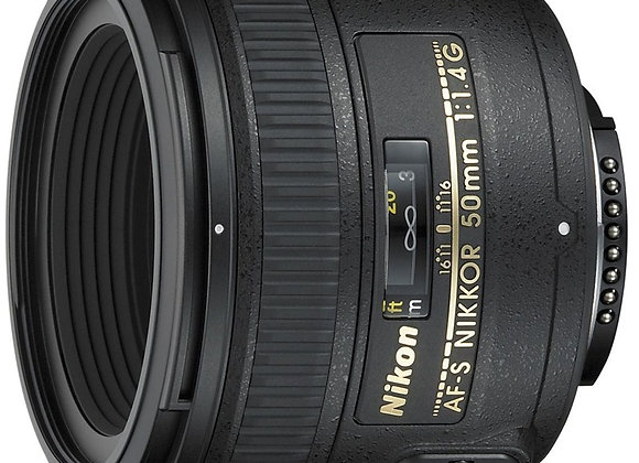 Nikon Lens 50mm f/1.4 G AF-S עדשה ניקון - יבואן רשמי