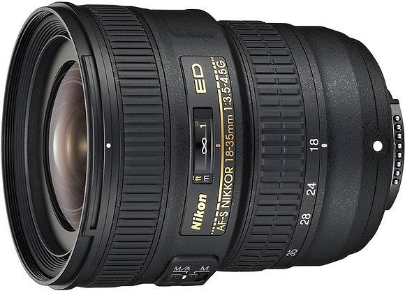 Nikon Lens 18-35mm f/3.5-4.5G ED עדשה ניקון - יבואן רשמי
