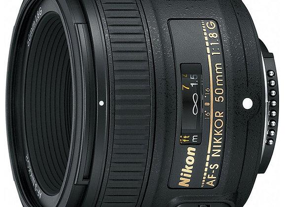 Nikon Lens 50mm f/1.8 G AF-S עדשה ניקון - יבואן רשמי