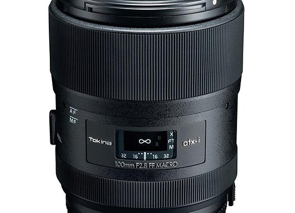 עדשת טוקינה Tokina for Nikon F ATX-i 100mm f/2.8