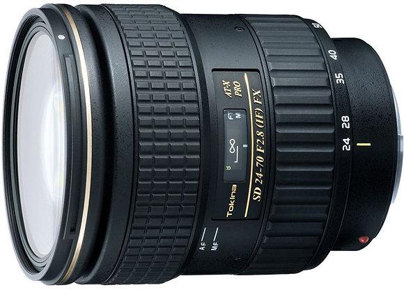 עדשת טוקינה Tokina for Canon AT-X 24-70mm f/2.8 PRO FX