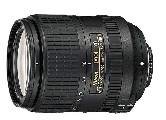 Nikon Lens AF-S DX NIKKOR 18-300mm f/3.5-6.3G ED VR עדשה ניקון - יבואן רשמי