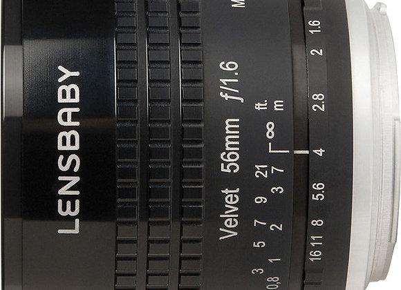 עדשת לנסבייבי Lensbaby lens for Micro 4/3 Velvet 56 bl.