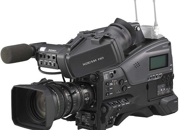 מצלמת וידאו מקצועי סוני Sony Xdcam Pmw-350k קיט (כולל עדשה)