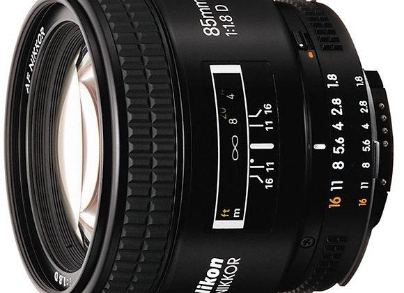 Nikon Lens 85mm f/1.8 D AF עדשה ניקון - יבואן רשמי