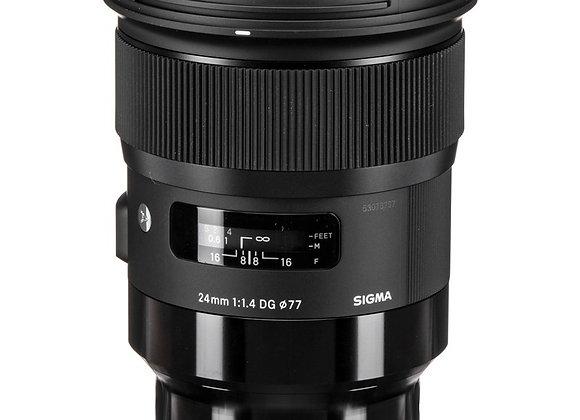 עדשת סיגמה Sigma for Leica L 24mm ART 1.4