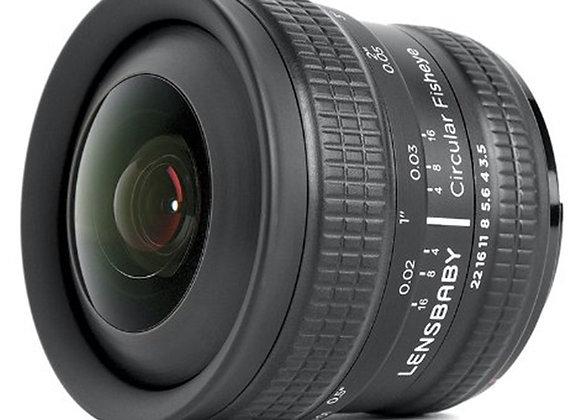 עדשת לנסבייבי Lensbaby lens for Canon Circular Fisheye 5.8mm f/3.5