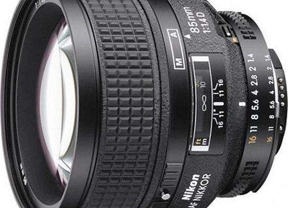 Nikon Lens 85mm f/1.4 D AF עדשה ניקון - יבואן רשמי