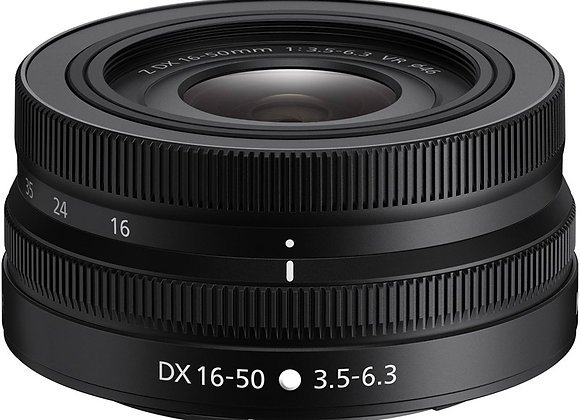 Nikon Z Lens Nikkor Z DX 16-50mm f/3.5-6.3 VR עדשה ניקון - יבואן רשמי