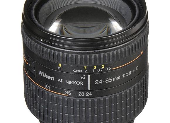 Nikon Lens AF Zoom-NIKKOR 24-85mm f/2.8-4D IF עדשה ניקון - יבואן רשמי