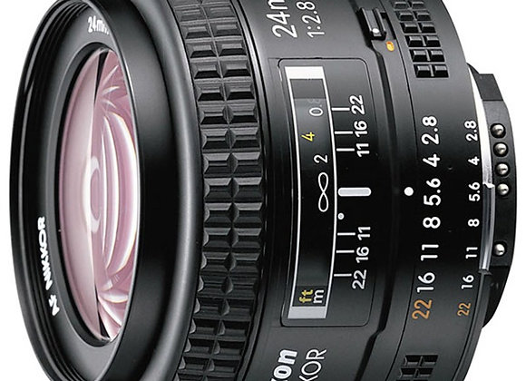 Nikon Lens 24mm f/2.8 D AF עדשה ניקון - יבואן רשמי