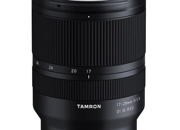 עדשה טמרון Tamron for Sony E 17-28mm f/2.8 Di III RXD - יבואן רשמי