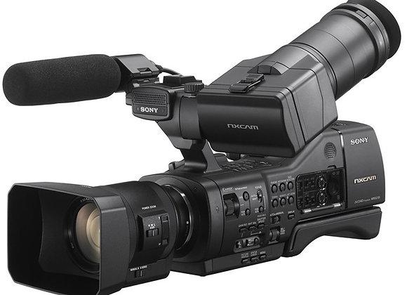 מצלמת וידאו מקצועי סוני Sony NEX-EA50EM + 18-105mm Lens