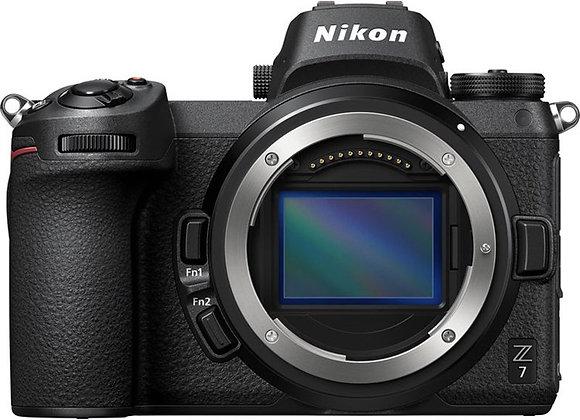 NIKON Z7 גוף בלבד MIRRORLESS מצלמת ניקון - יבואן רשמי