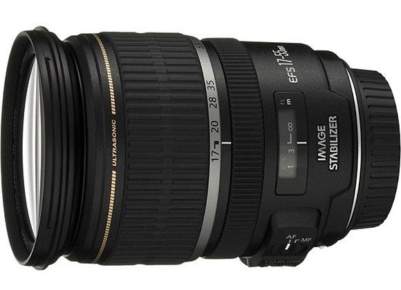עדשה קנון Canon lens 17-55mm f/2.8 IS USM