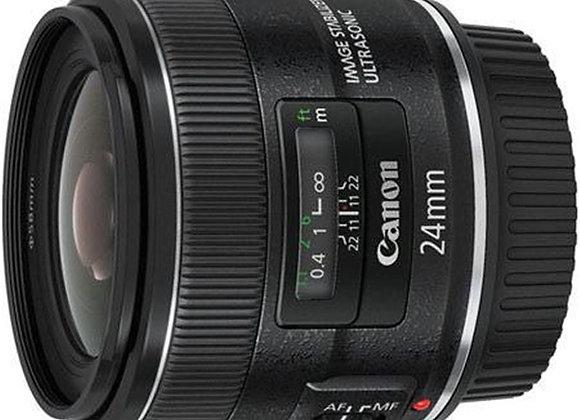 עדשת קנון Canon lens 24mm f/2.8 IS USM II