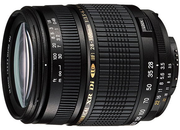 עדשה טמרון Tamron for Canon Autofocus 28-300mm F/3.5-6.3 XR Di VC LD Aspherical