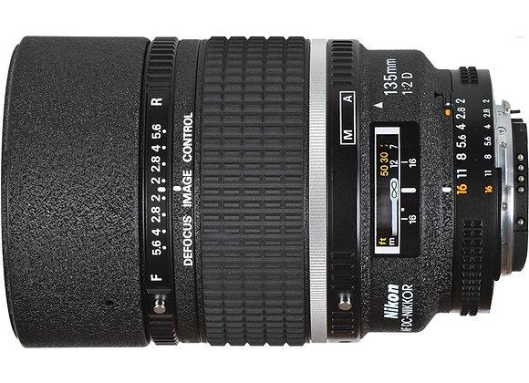 Nikon Lens 105mm f/2 D AF DC עדשה ניקון - יבואן רשמי